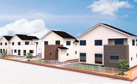 仙台市宮城野区のオール電化新築分譲一戸建て住宅「シアンズコート田子Ⅵ」